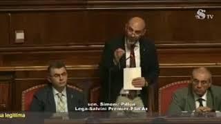 Intervento del senatore Simone Pillon sulla Legittima Difesa