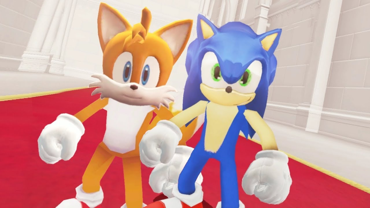 Super Mario Odyssey - Sonic & Tails Final Boss + Ending