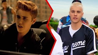 The Evolution of Justin Bieber