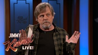 Mark Hamill is Jealous of Harrison Ford's Star Wars Memorabilia