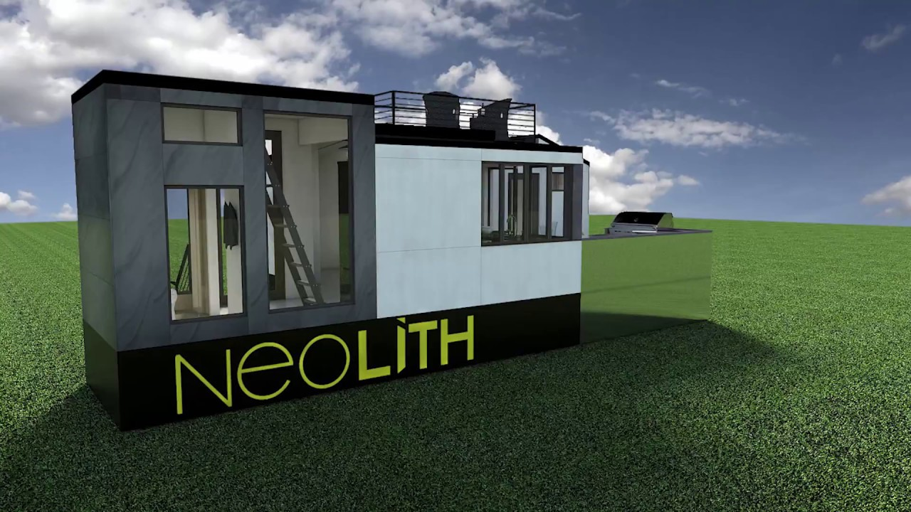 Neolith Tiny House Building Process Youtube