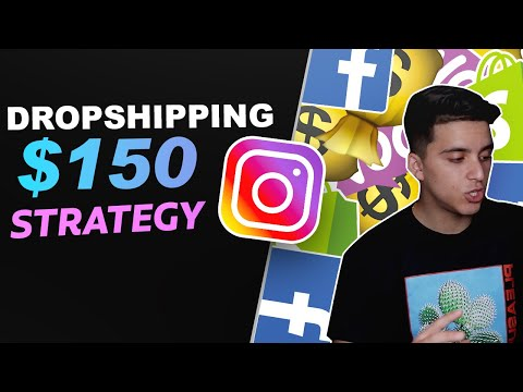 How To Start Dropshipping With Only $150 (Easy Beginner Strategy) thumbnail