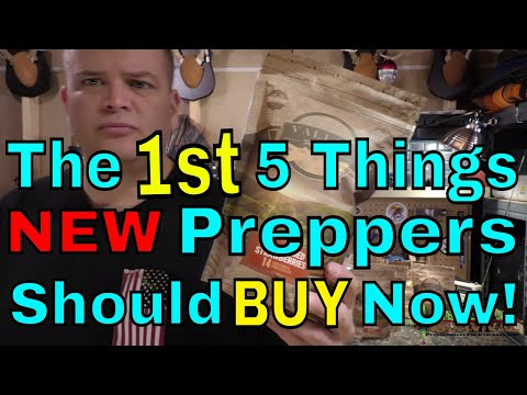The First 5 Things New Preppers Should Buy