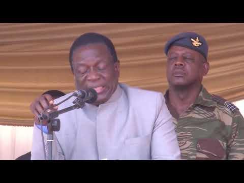 Mnangagwa Threatens Shop Owners