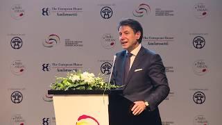Intervento del Presidente Conte al  3° Dialogo economico di alto livello Italia-Asean