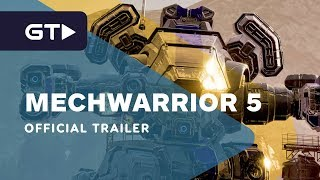 MechWarrior 5 Mercenaries - Official Launch Trailer