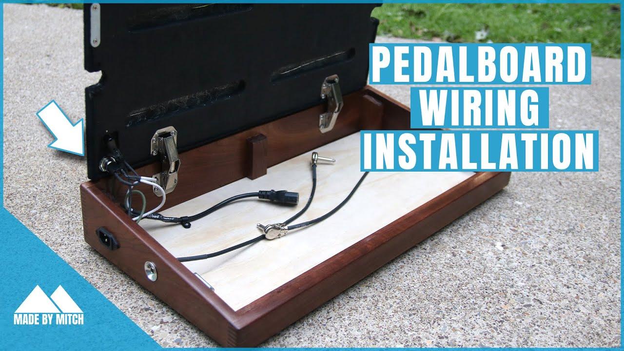 Custom Pedalboard [Part 2] Wiring Installation - YouTubeYouTube