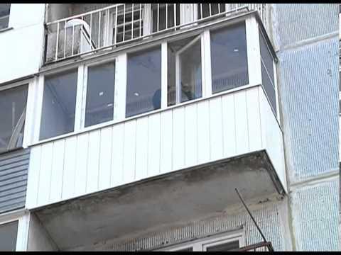 Остекление балкона пвх - youtube.