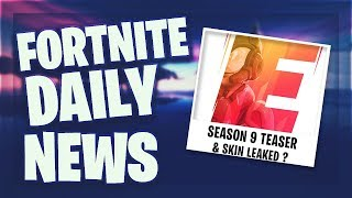 *SEASON 9* ZWEITER TEASER & SKIN LEAKED ? - Fortnite Daily News (7 Mai 2019)