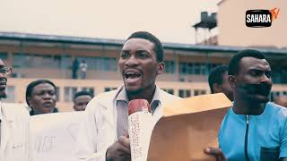 Resident Doctors Of Lagos University Teaching Hospital Protest Five Months Of Unpaid Salary