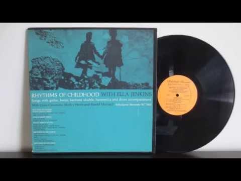 Ella Jenkins – Rhythms Of Childhood (1963) -  Children's, Folk