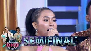 Ditest Pakai Lagu SAYANG, Erika Berhasil Membawakan Dgn Baik - Semifinal Kilau DMD (22/2)