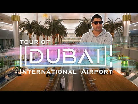 Dubai Airport Terminal 3 Emirates Airline Complete Video