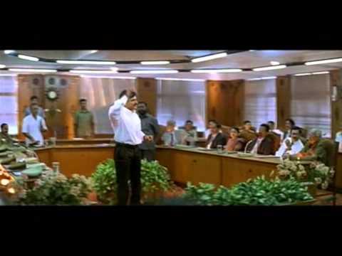 Oke Okkadu Movie   Arjun's Introduction As A C.M