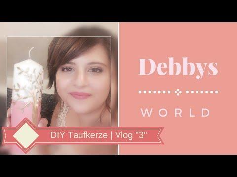 DIY Taufkerze   Vlog
