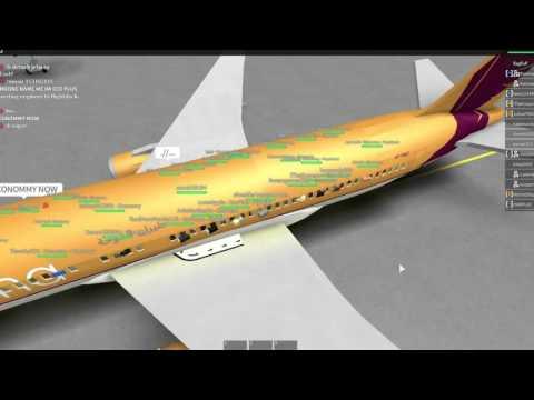 ROBLOX Fly Doha 767 Flight