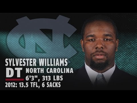 2013 NFL Draft Profile | Sylvester Williams - North Carolina DT - 1st Round Pick | ACCDigitalNetwork