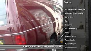 2007 Ford E-Series Van E-350 Super Duty Recreational Newark NJ 07104