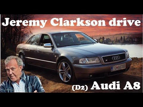 Jeremy Clarkson drive Audi A8 (D2) Audi's flagship in classic old top gear