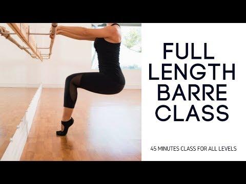 FREE Full Length Barre Class