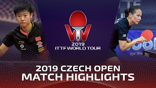 Полина Михайлова vs Liu Xi | Czech Open 2019 (Pre)