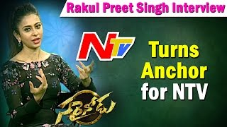 rakul-preet-singh-turns-anchor-for-ntv-sarrainodu