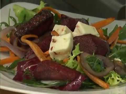 Ранок-панок. Світлана Бурчак. Салат з запеченими овочами