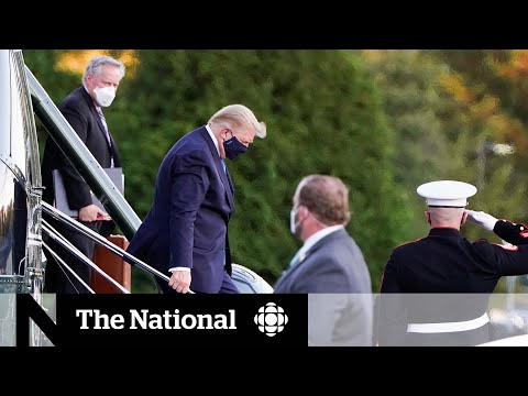 President Trump taken to military hospital for COVID-19, From YouTubeVideos