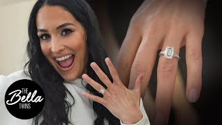 NIKKI'S ENGAGEMENT RING! Exclusive FIRST LOOK