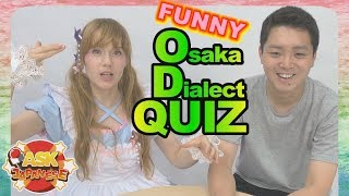 What's a MOTORPOOL?! TAKE THE OSAKA DIALECT QUIZ PART 2
