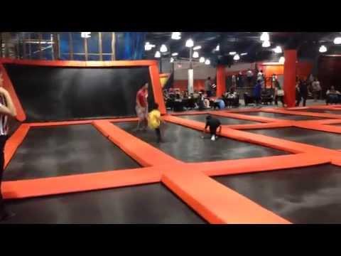 Big Air Trampoline Park in Buena Park Mall