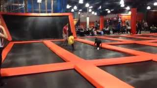 Big Air Trampoline Park in Buena Park Mall