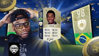 OMG PELE IN A PACK! 5X WORLD CUP ICON SBC PACKS   FIFA 18 ULTIMATE TEAM