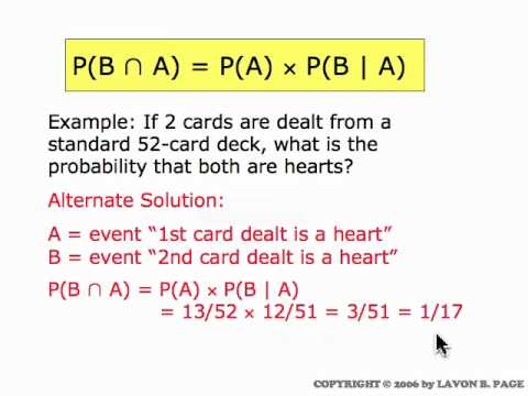 Conditional Probability (movie 5.4)