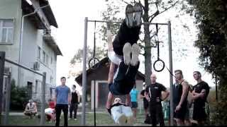 Motivation STREET WORKOUT movie - BAR WINGS - Slovenia