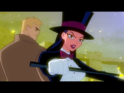 "Justice League Action - ""Zombie King"" (clip)"