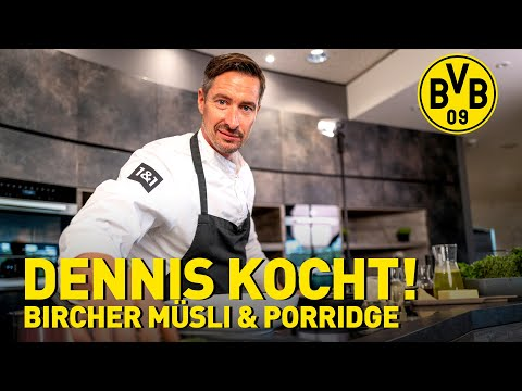 Cooking with Dennis! | Breakfast: Bircher Muesli & Porridge | PreSeason-Special