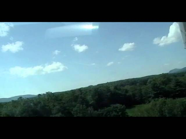 Taking Off From KGBR (Great Barrington Airport) In a Cessna 177RGTC