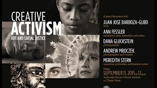 Creative Activism: Art and Social Justice