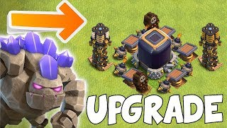 GRAB ALL THE LOOT YOU CAN!! | clash of clans | Upgrading golem!