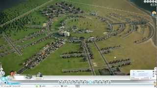 Sim City 5 - A One Hour City in 4 Minutes.