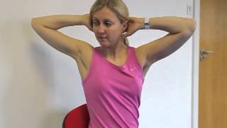 Neck Mobility Rotations Exercise