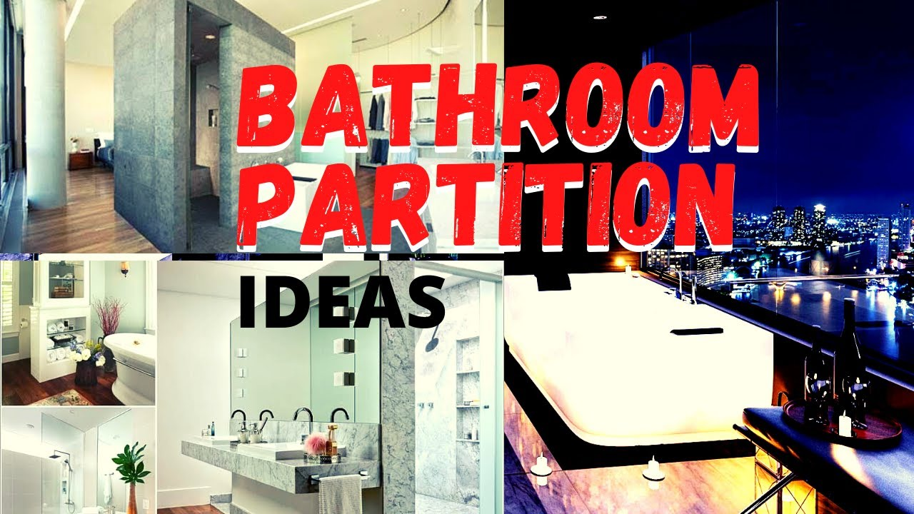 Bathroom Partition Wall I Design Ideas Customization Colors Costing Complete Review Youtube
