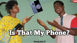 Buying A New Phone In An African Home | MC SHEM COMEDIAN