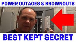 Prevent Appliance Damage From Power Outage Brownouts (MUST Watch)