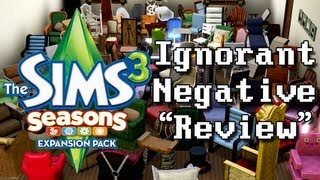 LGR - The Sims 3 Seasons - Ignorant Review