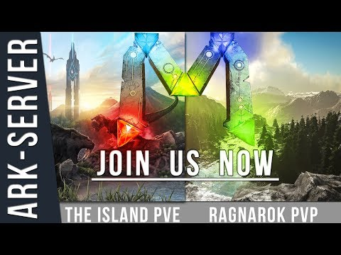 ARK Community Server PC Trailer Team Mekkey [TheIsland,Ragnarok]