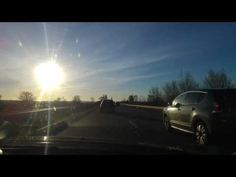 Toulouse 2017 car driving
