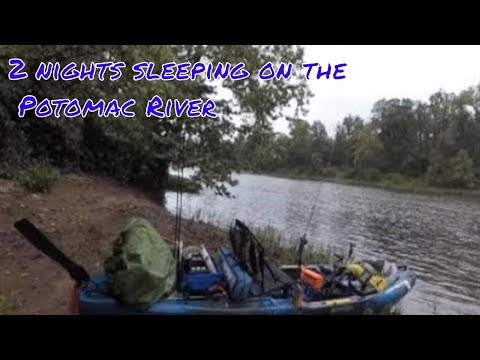 2 night KAYAK camping on the Potomac river
