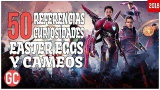 Avengers: Infinity War - 50 Referencias, Curiosidades, Easter Eggs y Cameos.